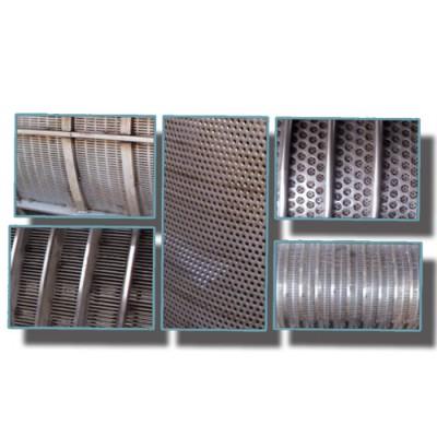 螺旋压榨机筛网选型