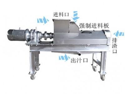 尾菜螺旋压榨机