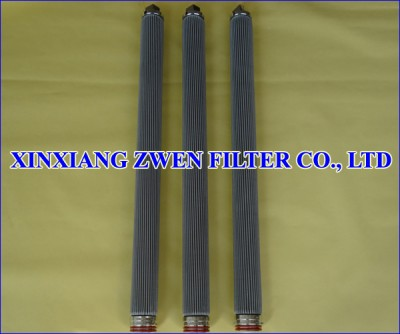 Pleated Sintered Fiber Felt Filter Element
