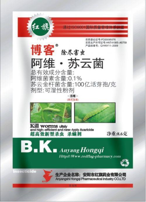 阿维 苏云菌可湿性粉剂