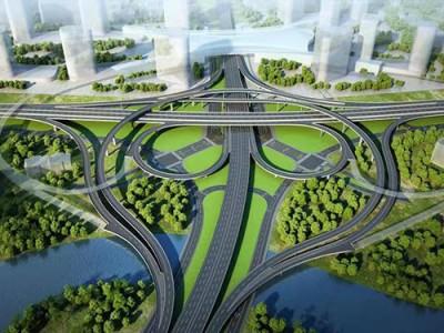 洛阳市西环路谷水互通立交建设工程项目