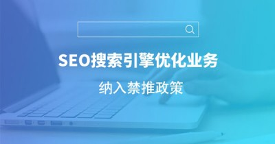 干货||关于SEO搜索引擎优化业务纳入禁止推政策解读