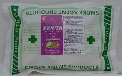 无捻杀虫烟剂
