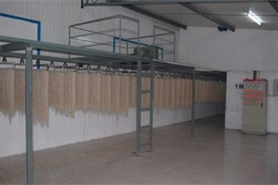 Powder drying workshop