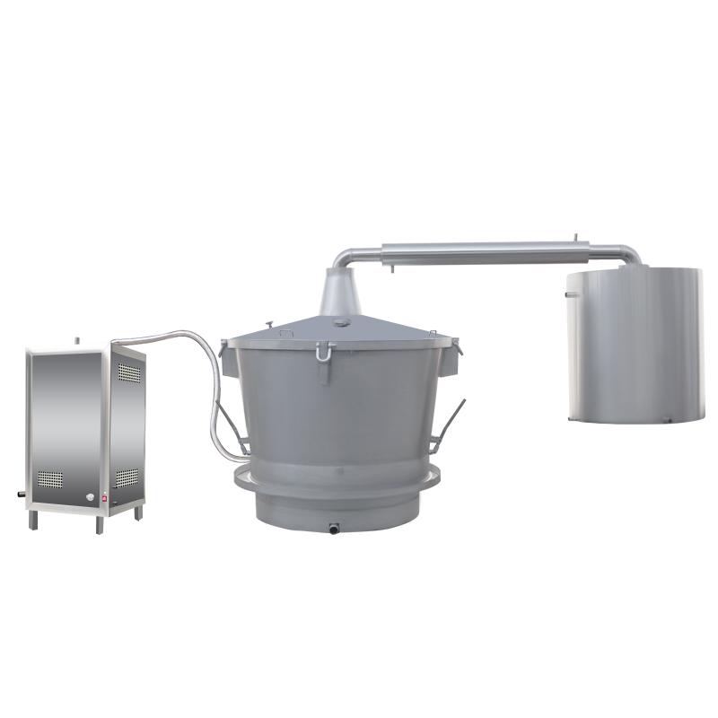 單層吊鍋液化氣、天然氣蒸汽式釀酒設備