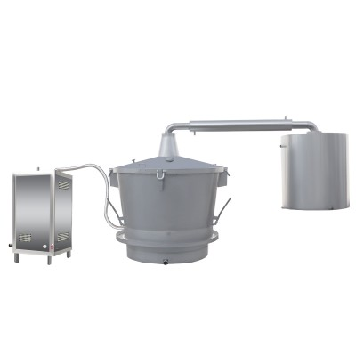 单层吊锅液化气、天然气蒸汽式酿酒设备