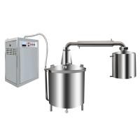 電蒸汽機式錐底釀酒設備