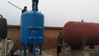 水处理设备安装现场