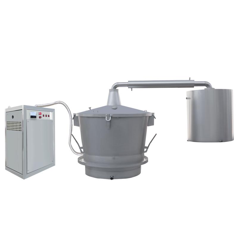 單層吊鍋電加熱蒸汽式釀酒設備