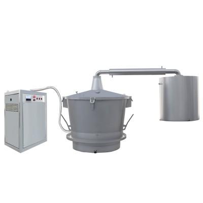 单层吊锅电加热蒸汽式酿酒设备