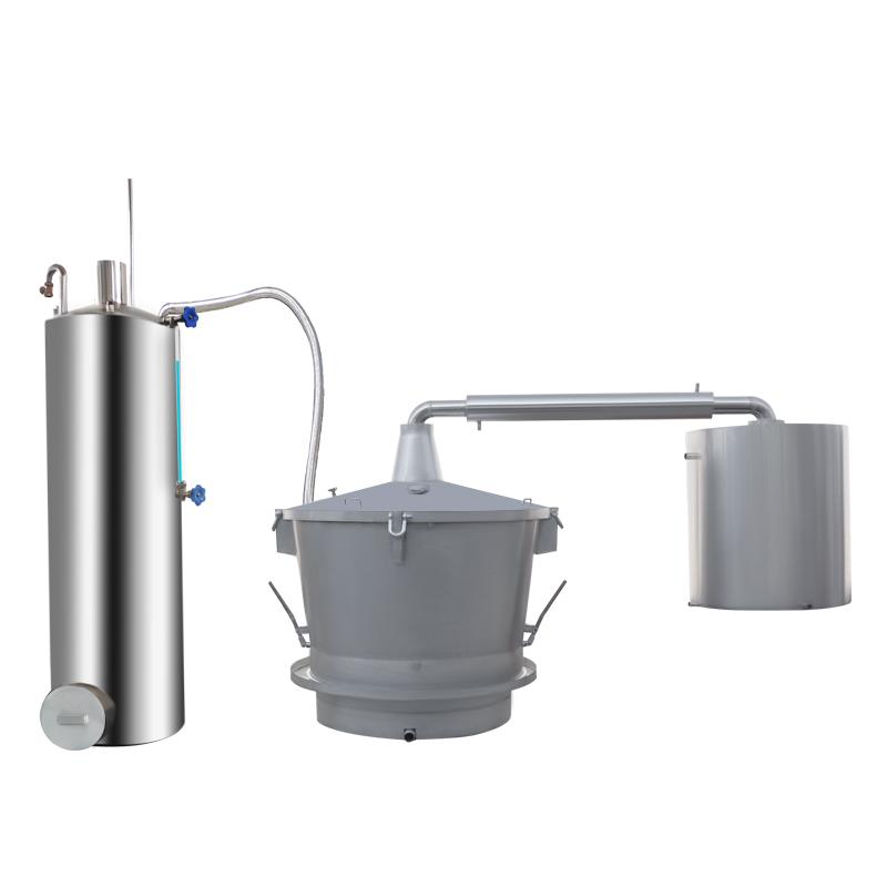 單層吊鍋燃煤蒸汽式釀酒設備
