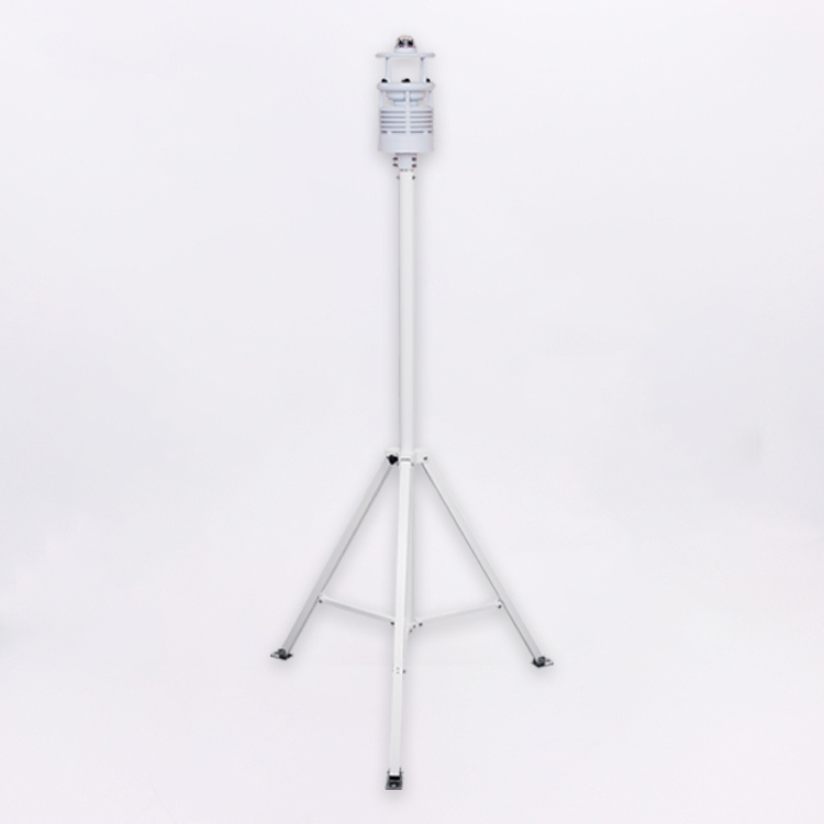 Portable weather station support