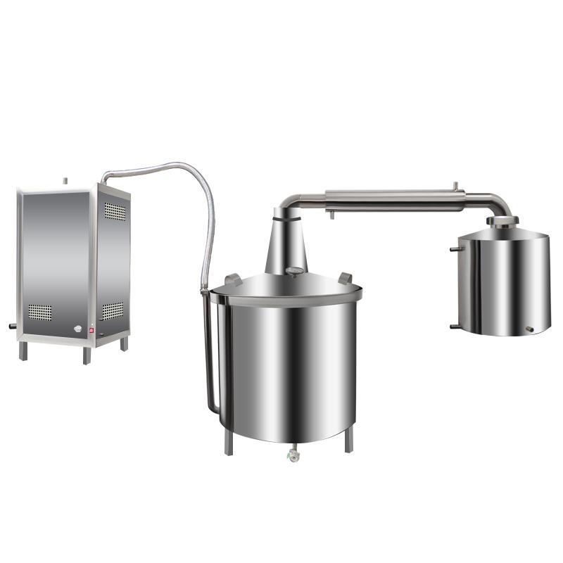 液化氣、天然氣蒸汽機式釀酒設備