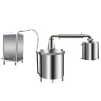 液化气、天然气蒸汽机式酿酒设备