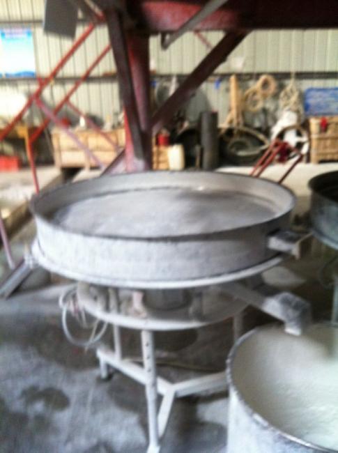 高频筛在陶瓷厂的应用