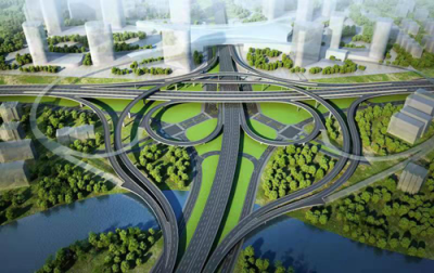 洛阳市西环路谷水互通立交建设工程
