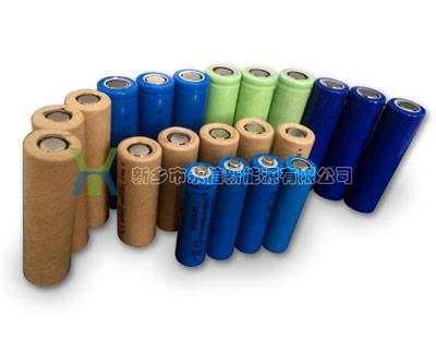 圓柱鋰離子電池
