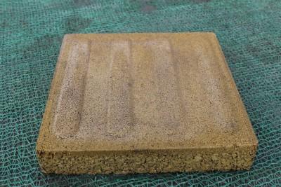 渗水砖的生产工艺