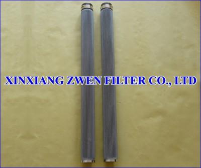 Pleated Sintered Fiber Felt Filter Cartridge