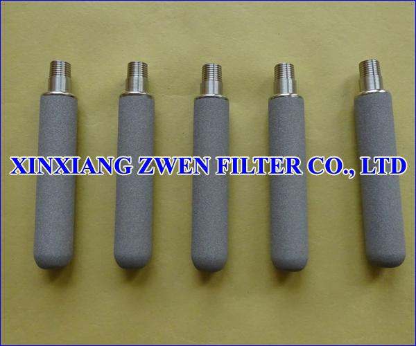 Titanium Sintered Powder Filter Cartridge