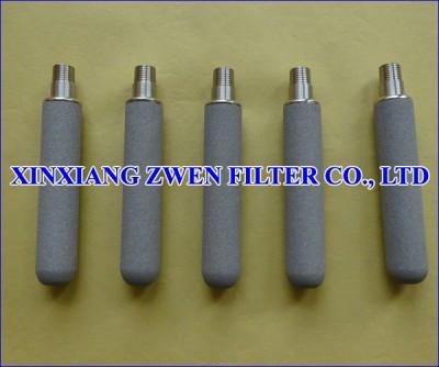 Ti Sintered Porous Filter Rod