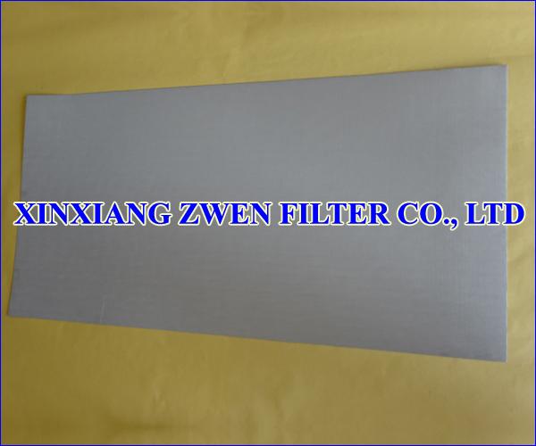 Multilayer Sintered Mesh Filter Plate