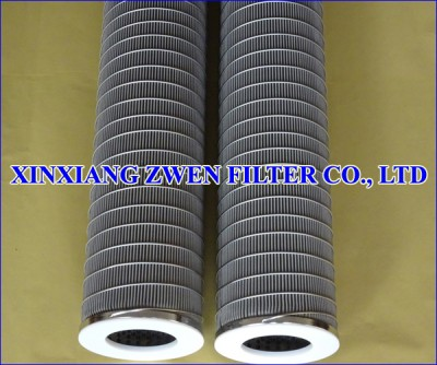 SS Pleated Filter Element
