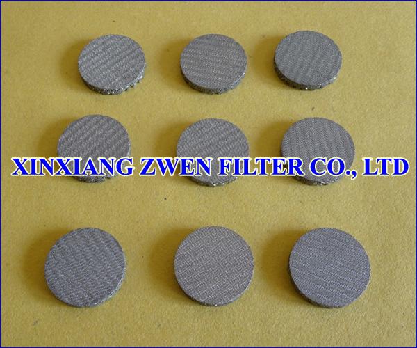 Multilayer Sintered Mesh Filter Disc
