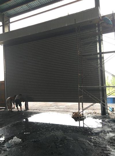 小店化纤厂电动抗风门