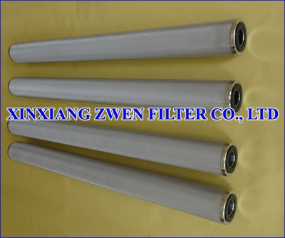 Washable Sintered Filter Element