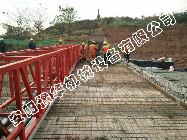 桥梁铺装整平机