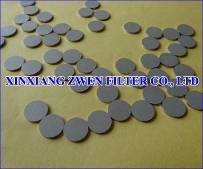 Ti Sintered Porous Filter Disk