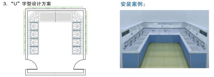 内镜清洗工作站设计方案+安装案例2