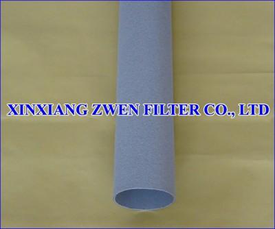 Ti Sintered Powder Filter Pipe