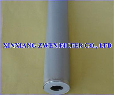 316L Sintered Porous Filter Cartridge
