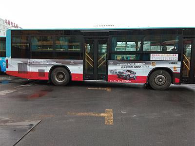 大巴车广告