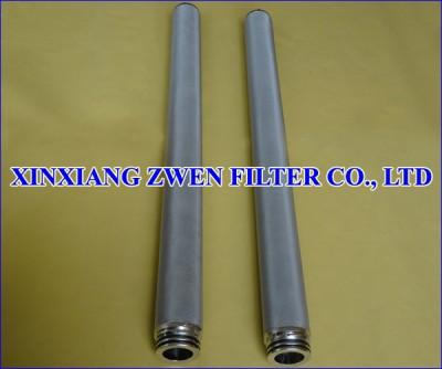 SS Sintered Metal Filter Cartridge