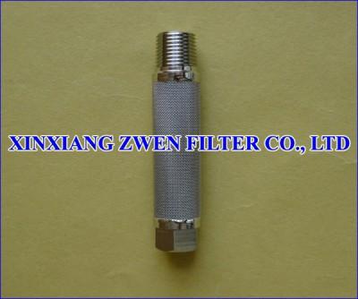 Washable Cylindrical Sintered Fiber Felt Filter Element