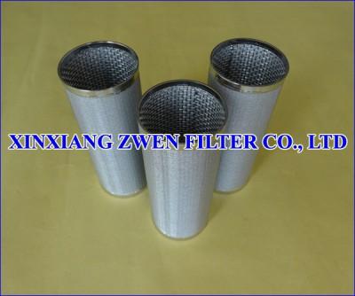 Stainless Steel Sintered Metal Filter Element