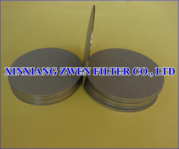 Titanium Sintered Powder Filter Disk