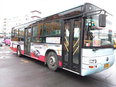 河南公交车体广告