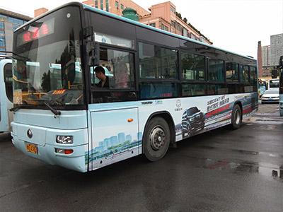 公交车广告投放