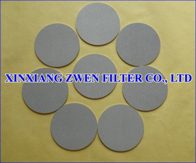 316L Sintered Powder Filter Disc