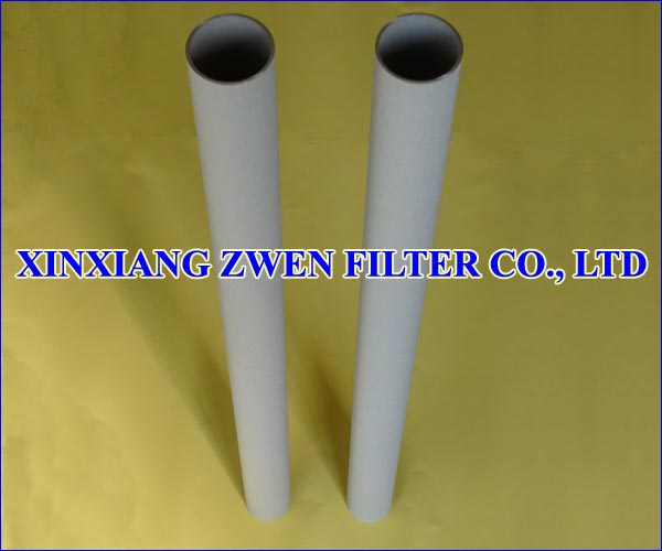 Titanium Sintered Powder Filter Pipe