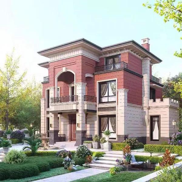 三層複式輕鋼別墅
