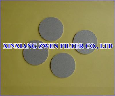 Titanium Sintered Porous Filter Disk