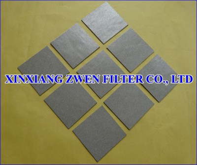 316L Sintered Powder Filter Sheet