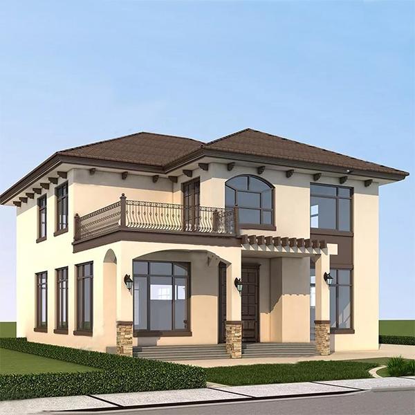 歐式三層複式輕鋼別墅