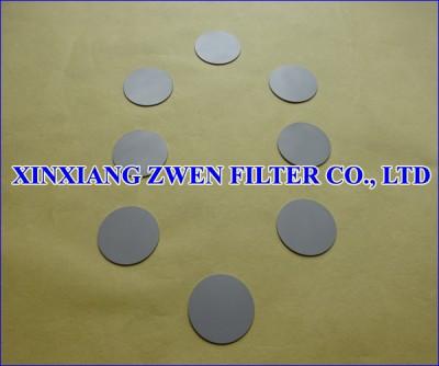 Ti Sintered Powder Filter Disk