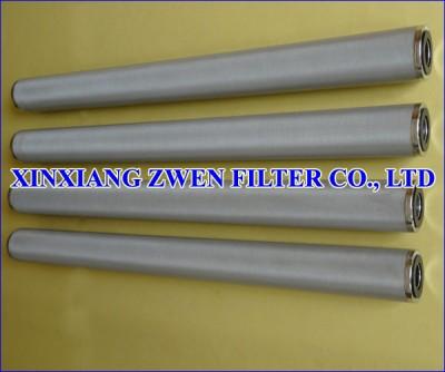SS Sintered Metal Filter Element